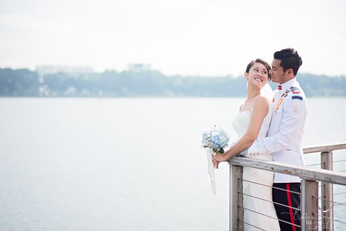 Reuben and Aini Singapore Prewedding by Loveinstills at Bedok Reservoir