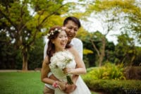 LIS - Zhen Hao & Xue Ying. Photography by Loveinstills at Singapore Botanic Garden