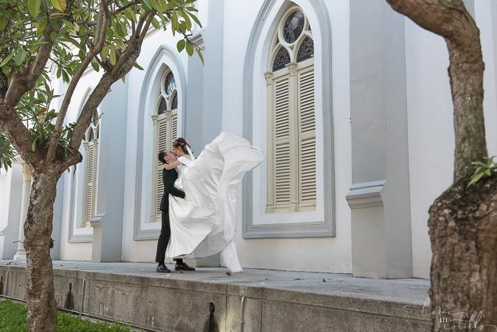 Shu Jian & Eunice AD at Chijmes Hall Singapore. Photography by Loveinstills. Love Declaration by Loveinstills