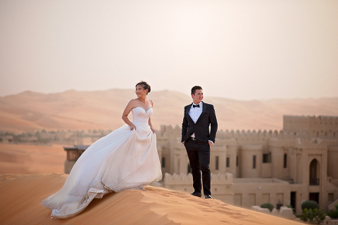 Luc and Alicia's Abu Dhabi Prewedding