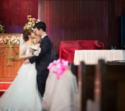 Zhong Lin And Shu Qiao Actual Day Wedding, Couple Shoot At Grace Scc Church