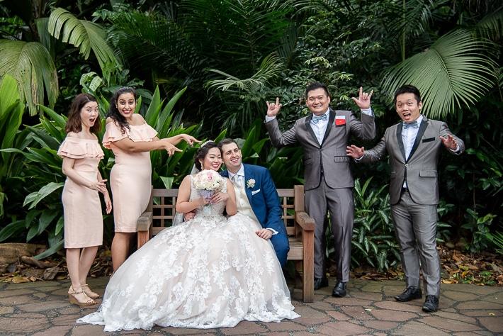 Group Fun Shoot at Botanic Gardens Singapore