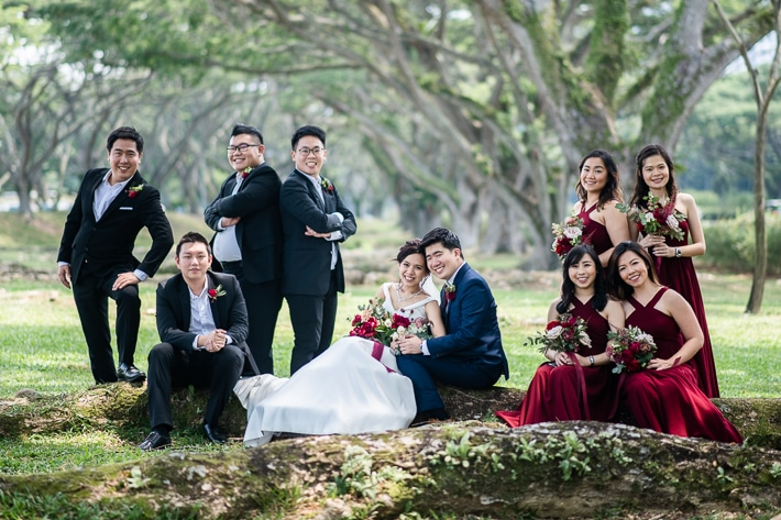 Bridal Party Outdoor shoot