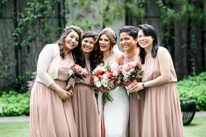 Bridal shots at Novetel at Stevens Road