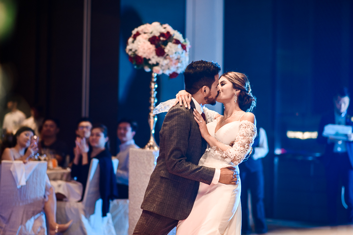 Couple's First Dance at Novotel Steves