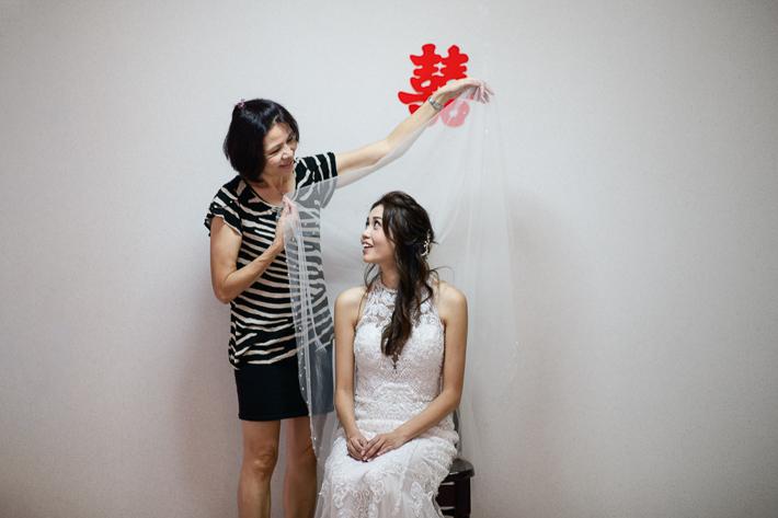 Bride Veiling Shot